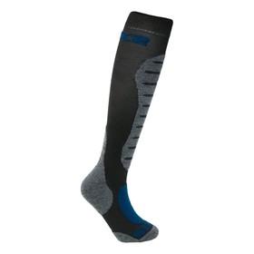Гольфы SIXS MOT S MERINOS Wool, размер 35-38, серый, чёрный