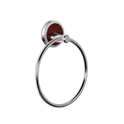 Полотенцедержатель кольцо, хром LT13110 - Фото 1