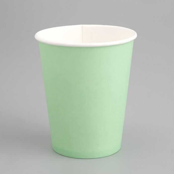Стакан Мятный, для горячих напитков, 250 мл, диаметр 80 мм