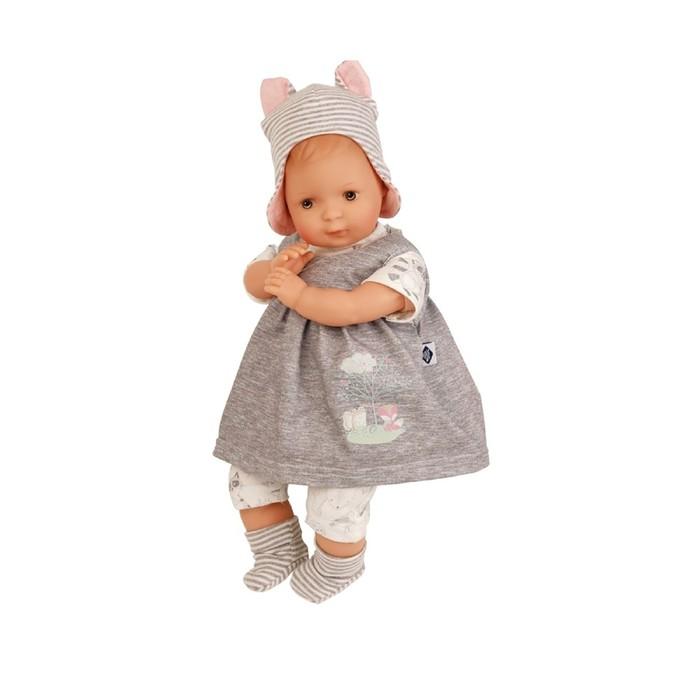 Кукла мягконабивная «Кареглазая девочка», 30 см