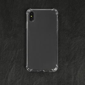Чехол LuazON для телефона iPhone XS Max, силиконовый, тонкий, противоударный Ош