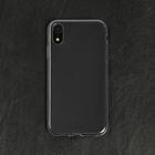 Чехол LuazON для телефона iPhone Xr, силиконовый, тонкий, прозрачный