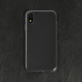 Чехол LuazON, для телефона iPhone XR, силиконовый, тонкий, прозрачный