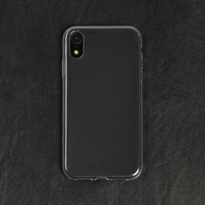 Чехол LuazON для iPhone XR, силиконовый, тонкий, прозрачный - Фото 1