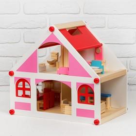 Кукольный домик 8,5×40×38 см Ош