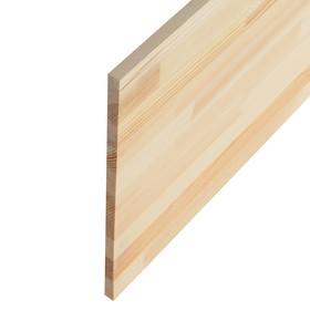 Щит мебельный  СОСНА, сорт АА, бессучковый, 200×40×1,8 см Ош