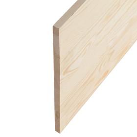 Щит мебельный  СОСНА, сорт АА, бессучковый, 300×40×1,8 см Ош