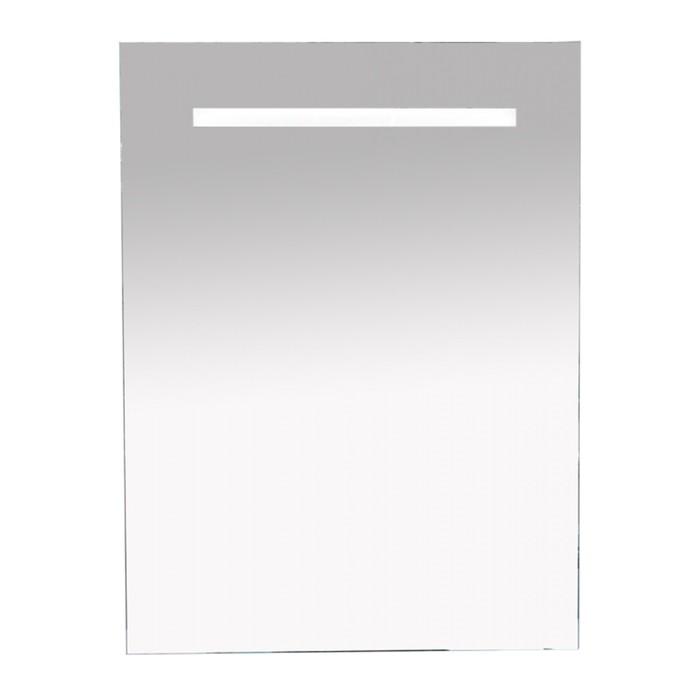 Зеркало 1 Неон - LED 600х800 клавишный выключатель (прямоугольное)