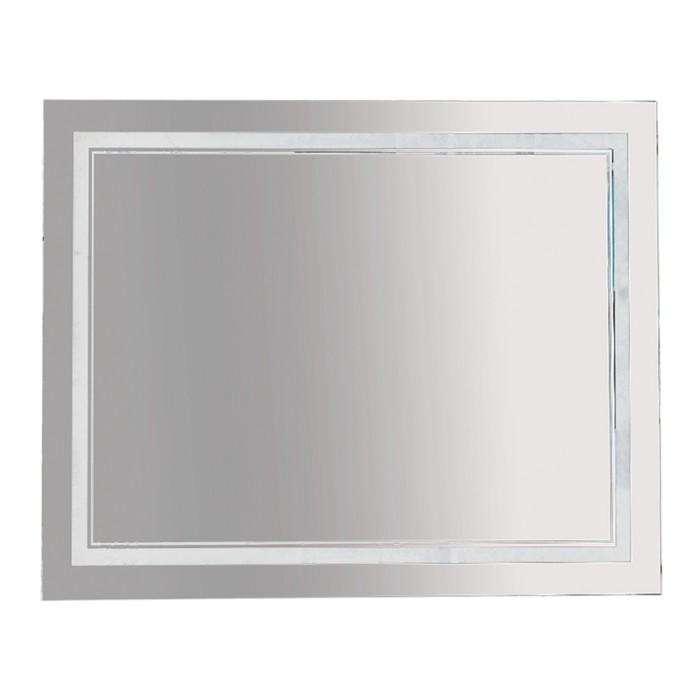 Зеркало 2 Неон - LED 1000х800 сенсор на корпусе (двойная подсветка)