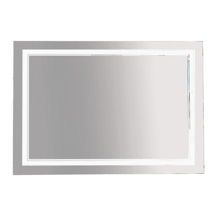 Зеркало 2 Неон - LED 1200х800 клавишный выключатель (двойная подсветка)