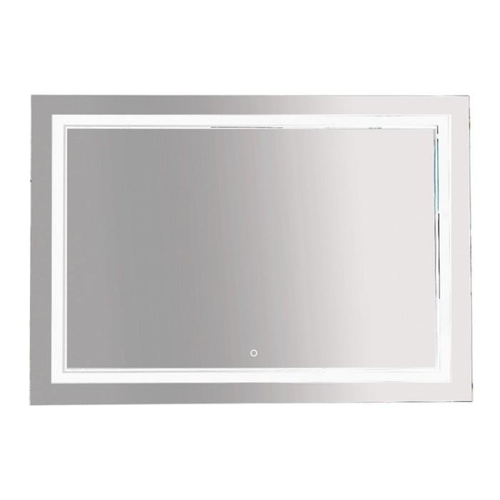 Зеркало 2 Неон - LED 1200х800 сенсор на зеркале (двойная подсветка)