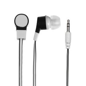 Наушники Dialog EP-05, вакуумные, 20-20000 Гц, 90 дБ, 32 Ом, 3.5 мм, 1 м, белые
