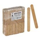 Шпатель деревянный шлифованный нестерильный,  р-р 140х18х1,8