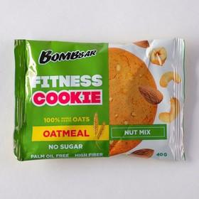 Овсяное печенье BOMBBAR, ореховый микс, 40 г