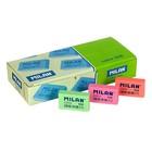 Ластик Milan Color 936 синтетический, прямоугольный, 39х23х9 мм