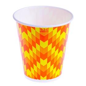 "Стакан ""Зиг-заг"" 300 мл, для холодных напитков, диаметр 90 мм"