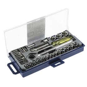 Набор инструментов для автомобиля KROFT 203038, 38 предметов