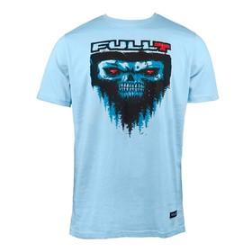Футболка FullT Yeti, размер S, цвет голубой-черный-красный Ош