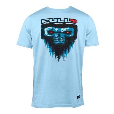 Футболка FullT Yeti, размер M, цвет голубой-черный-красный