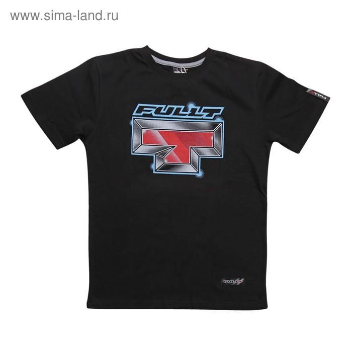Футболка FullT T-Iron, размер M, цвет черный-синий-красный