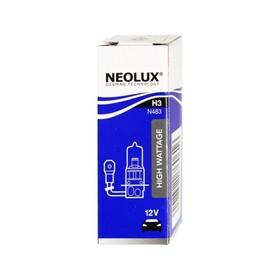 Лампа автомобильная NEOLUX off-road, H3, 12 В, 100 Вт, N483