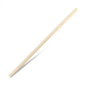 Черенок деревянный, d = 36 мм, длина 120 см, сухой, шлифованный, первый сорт, для снеговых лопат