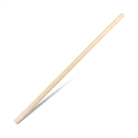 Черенок деревянный, d = 36 мм, длина 120 см, сухой, шлифованный, первый сорт, для снеговых лопат Ош