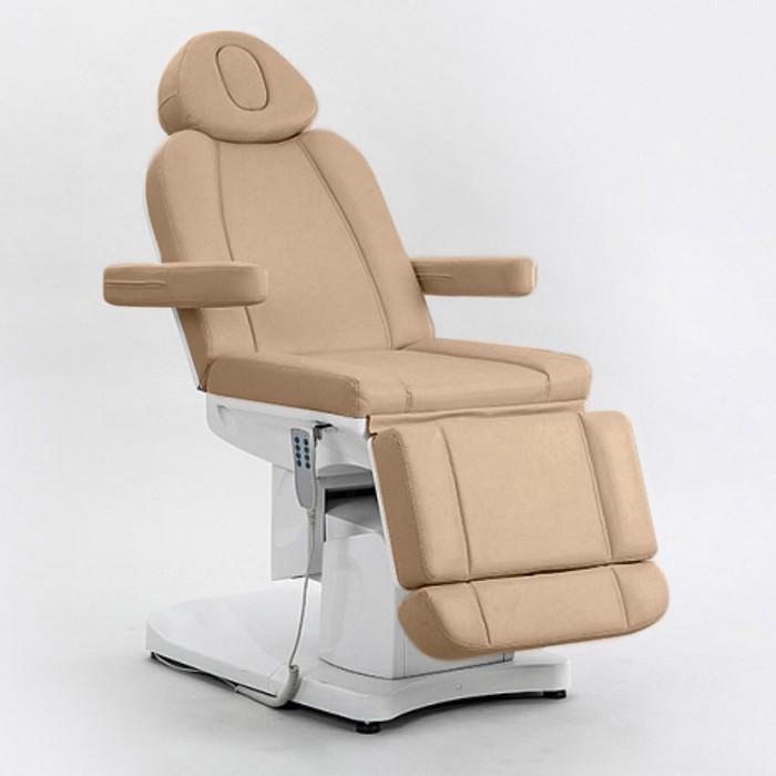 Косметологическое кресло SD-3708A, 4 мотора, цвет светло-коричневый