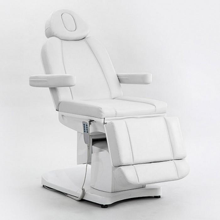 Косметологическое кресло SD-3708A, 4 мотора, цвет белый