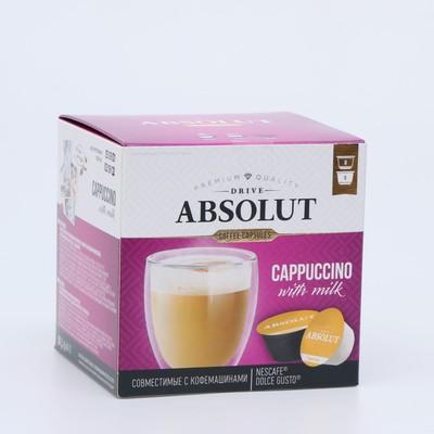 Капсулы для кофемашин Dolce Gusto: Drive Absolut Dg Капучино, 184 г - Фото 1