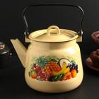 Чайник сферический «Эквадор», 3,5 л, цвет палевый