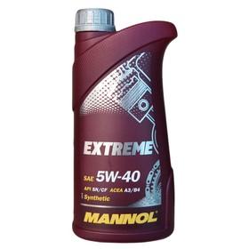 Масло моторное MANNOL 5w40 син. Extreme, 1 л