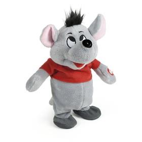 Интерактивная мягкая игрушка RIPETIX «Мышка в красном»