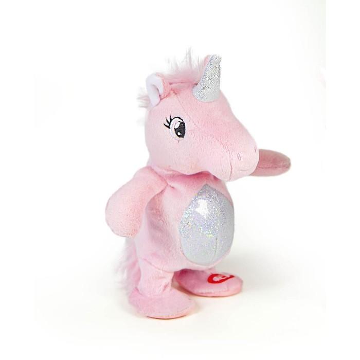 Интерактивная мягкая игрушка RIPETIX «Единорог», цвет розовый