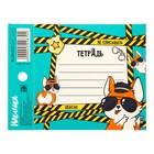 Наклейка на тетрадь «Не списывать», 8 ? 11 см