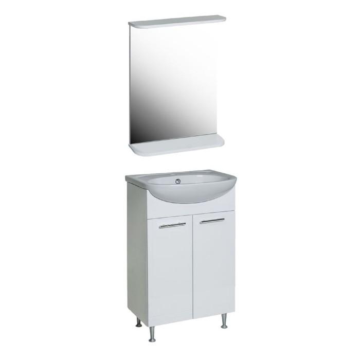 Комплект мебели Лотос-Классик 50 тумба с раковиной  зеркало