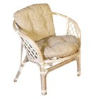 Кресло Bahama, с подушкой (2 вида подушек) натуральный