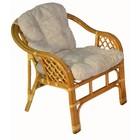 Кресло Marcos-В, с подушкой, мёд
