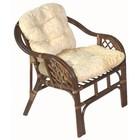 Кресло Marcos-В, с подушкой, орех матовый