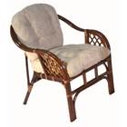 Кресло Marcos-В, с подушкой, молочный шоколад