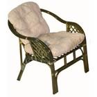 Кресло Marcos-В, с подушкой, олива