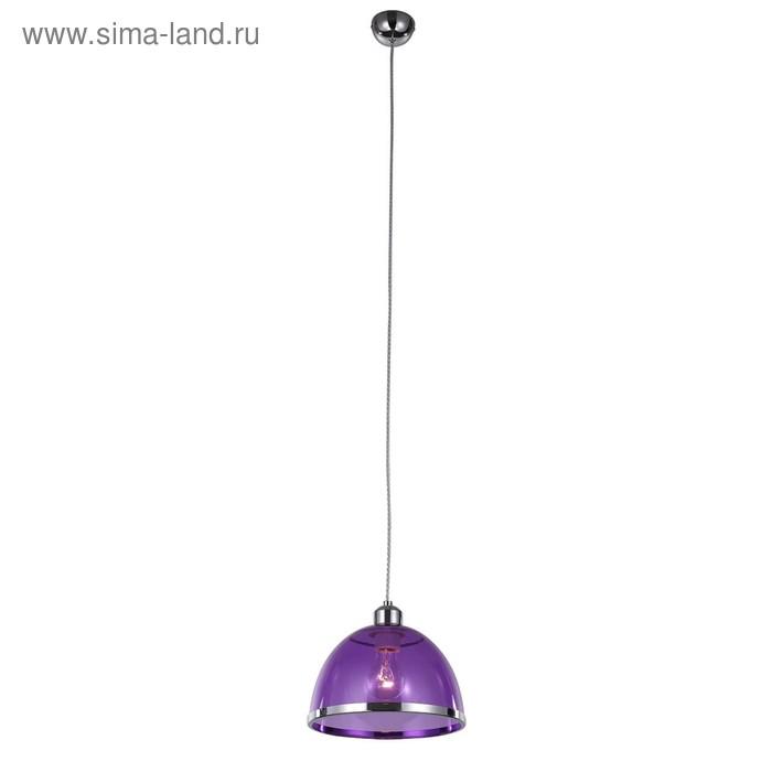 Светильник LETIZIA, 60Вт E27, цвет хром