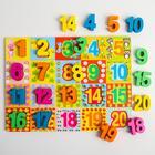 Вкладыши Mapacha «Цифры. Счёт до 20» - Фото 3