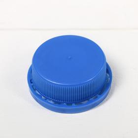 Крышка к канистре, объёмом 4,5 л, 3 л, 1 л, в сборе с вкладышем, синяя Ош
