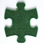 Массажный коврик 1 модуль Травка малый, цвет Микс