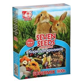 Корм Seven Seeds SUPERMIX Корм для кроликов, 900 г Ош