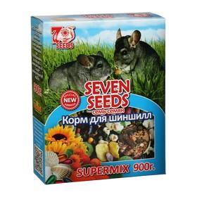 Корм Seven Seeds SUPERMIX для шиншилл, 900 г Ош