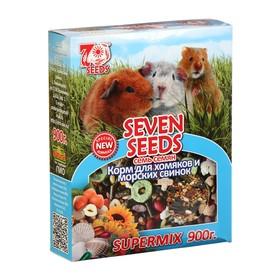 Корм Seven Seeds SUPERMIX для хомяков и морских свинок, 900 г Ош