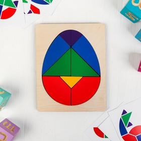 Головоломка «Колумбово яйцо» с карточками