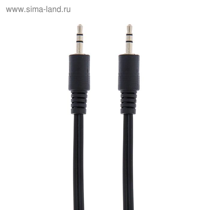 Кабель аудио AUX Bion BNCCA-404, Jack 3.5 мм(m)-Jack 3.5 мм(m), 1.2 м, черный